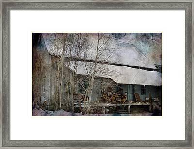 The Old Feed Mill Framed Print by Cynthia Nichols