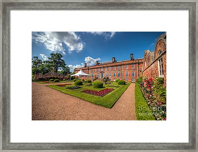 The Old Hall  Framed Print by Adrian Evans