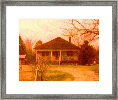 The Old Home Place Framed Print by Rebecca Korpita