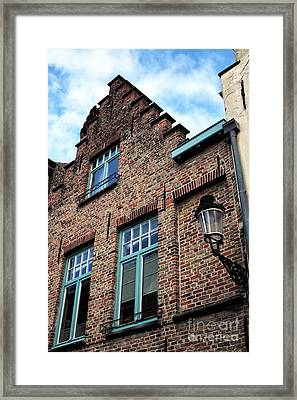 The Old House Framed Print by John Rizzuto