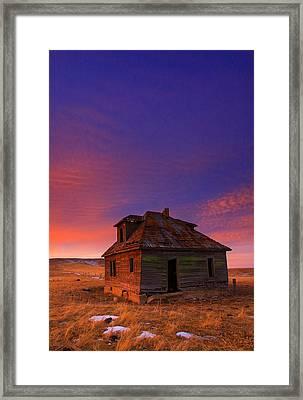 The Old House Framed Print by Kadek Susanto