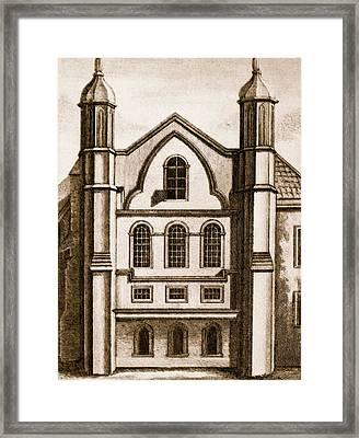 The Old House Of Commons Framed Print by English School
