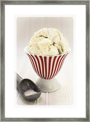 The Old Ice Cream Shoppe Framed Print by Edward Fielding
