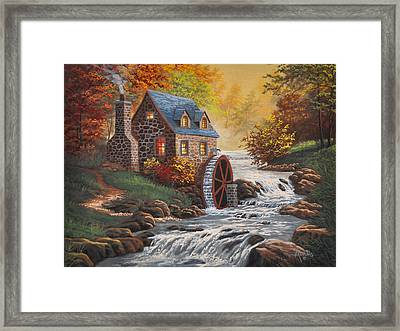 The Old Mill Framed Print by Gary Adams
