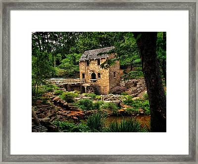 The Old Mill  Framed Print by Gregory Ballos