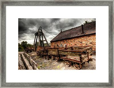 The Old Mine Framed Print by Adrian Evans