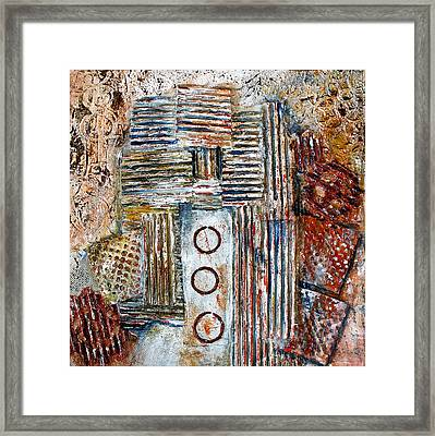 The Old Mine Framed Print by Bellesouth Studio