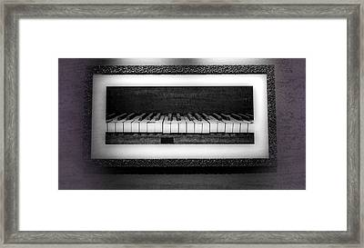 The Old Piano Framed Print by Dan Sproul