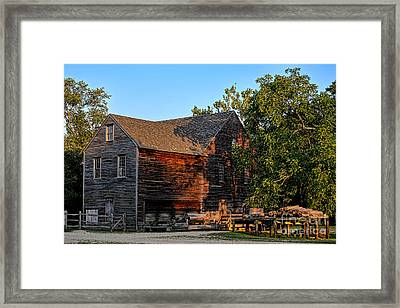 The Old Sawmill Framed Print by Olivier Le Queinec