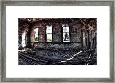 The Old Schoolhouse Framed Print by Kimberleigh Ladd