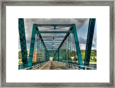 The Old Sixth Street Bridge Framed Print by Robert Pearson