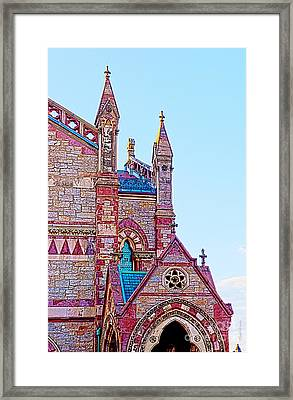 The Old South Church Boston Framed Print by Michelle Wiarda