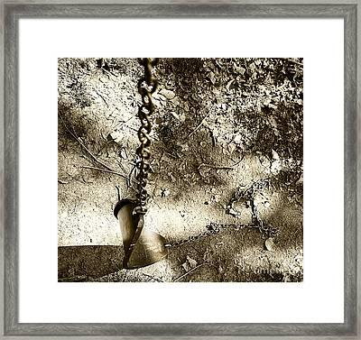The Old Swing Framed Print by John Debar