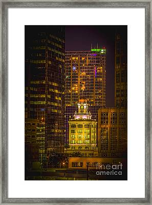 The Old Tampa City Hall Framed Print by Marvin Spates