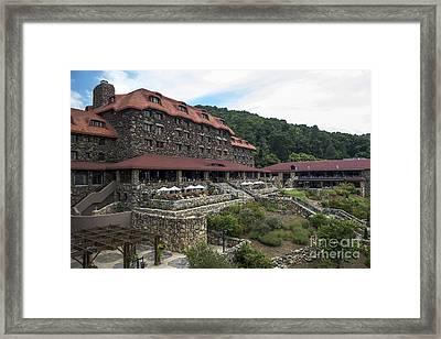 The Omni Grove Park Inn Framed Print by David Oppenheimer