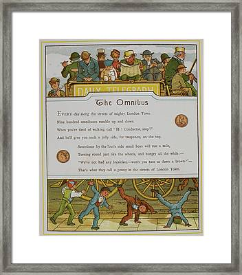 The Omnibus Framed Print by British Library