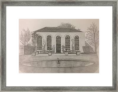 The Orangery Framed Print by Norman Richards