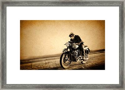 The Original Street Racer Framed Print by Mark Rogan
