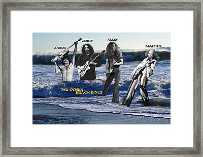 The Other Beach Boys Framed Print by Ben Upham
