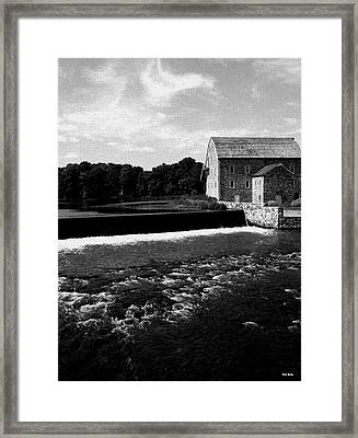 The Other Mill Framed Print by Val Arie