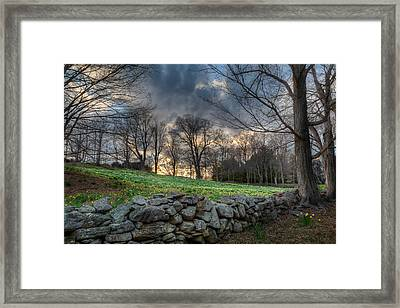 The Other Side Framed Print by Bill Wakeley