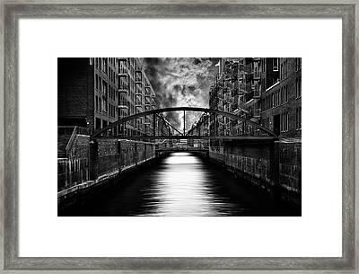 The Other Side Of Hamburg Framed Print by Stefan Eisele
