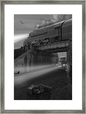 The Overpass Framed Print by Mike McGlothlen