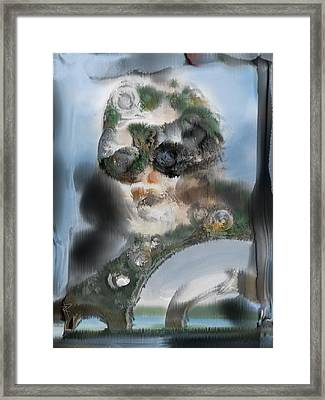 The Overseer Framed Print by Russell Pierce