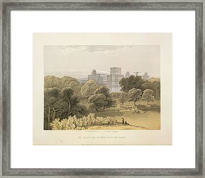 The Palace And Grounds Framed Print by British Library