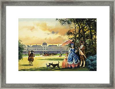 The Palace Of The Tuileries Framed Print by Andrew Howat