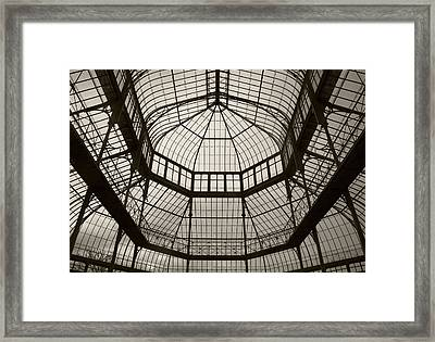 The Palm House Following Restoration Framed Print by Panoramic Images