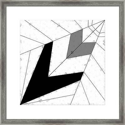 The Paper Plane Framed Print by Luc  Van de Steeg