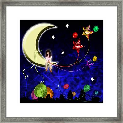 The Party Is Over Framed Print by Johnny Trippick