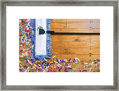 The Party's Over Framed Print by Diane Diederich