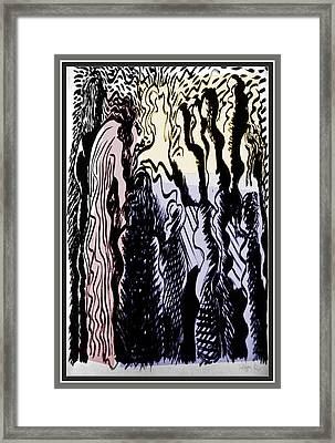 The Passion -1 Framed Print by Guy Ciarcia