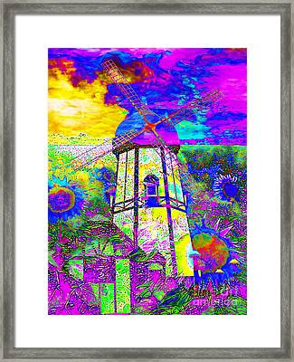 The Pastoral Dreamscape 20130730 Framed Print by Wingsdomain Art and Photography