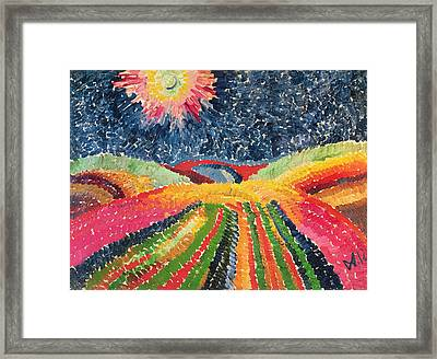 The Path Framed Print by Wilhelm Morgner