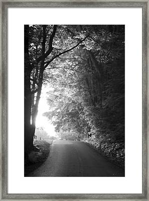 The Path Ahead Framed Print by Andrew Soundarajan