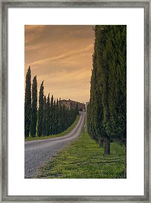 The Path Home Framed Print by Andrew Soundarajan
