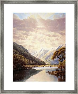 The Path Of Life Framed Print by Graham Braddock