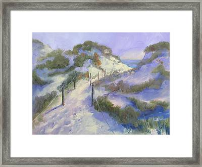 The Path Framed Print by Susan Richardson