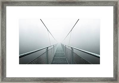 The Path To Infinity Framed Print by Max Zimmermann