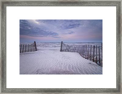 The Pathway Framed Print by Steve DuPree