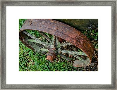 The Patina Of Time Framed Print by Rene Triay Photography