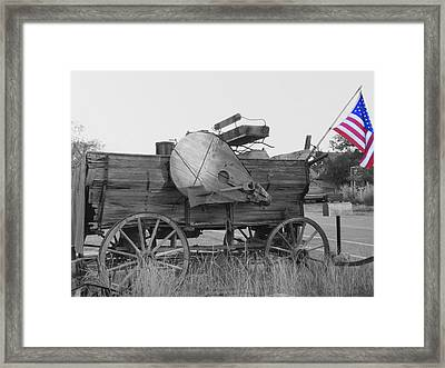 The Patriot Framed Print by Ann Powell