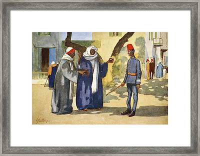 The Peacemaker, From The Light Side Framed Print by Lance Thackeray