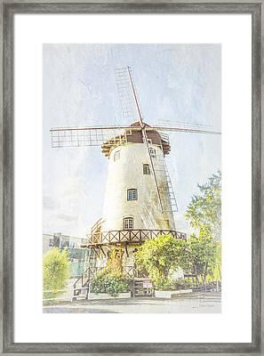 The Penny Royal Windmill Framed Print by Elaine Teague