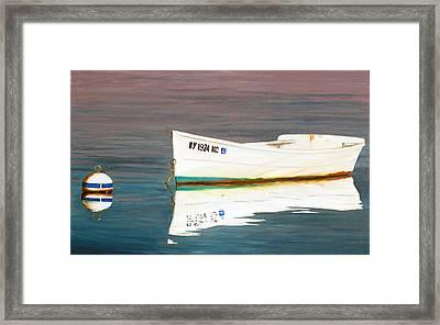 The Perfect Dawn Framed Print by Lorraine LaVista
