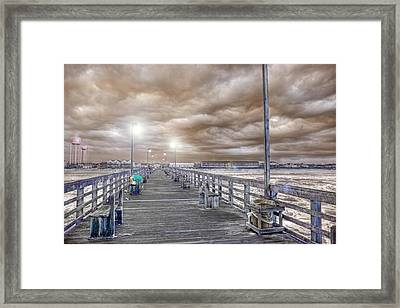 The Perfect Storm Framed Print by Betsy C Knapp