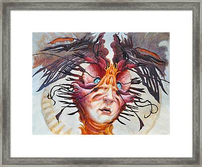 The Perplexing Murmur  Framed Print by Ethan Harris